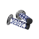 Blue/White Diamond Grips w/Donut - 219626-1006