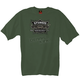 Olive Drab Green Official 2012 Sturgis Classic Label T-Shirt