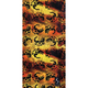 Orange/Black Tube Multi-Wear Headwear - TUBE-71