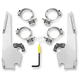Polished Fats/Slim Trigger Lock Hardware Kit - MEK2013