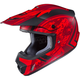 Flat Red/Black MC-1F CS-MX 2 Squad Helmet