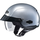 Silver IS-Cruiser Half Helmet