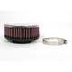 High Flow Air Filter for 40-44mm Mikuni Carbs - RC-0920