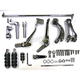 Chrome Forward Control Kit - 2 in. Extended - 22-0799