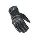 Black/Blue Super Moto Gloves