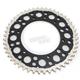 Black Rear Twin Ring 48 Tooth Sprocket - 1500-520-48GPBK
