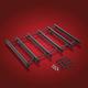 Anodized Black Vantage Six Rail Rack - 91-307BK