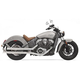 Xhaust Chrome 2 1/4 in. Fishtail Slip-On Mufflers - 8S17E