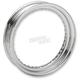 Chrome 16 in. Steel Rim - 0210-0323
