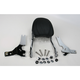 Touring Quick-Detach Passenger Backrest Kit w/8 in. x 8 in. Pad - 34-5202-01