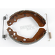 Sintered Metal Grooved Brake Shoes - 633G