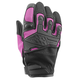 Women's Pink/Black Backlash Mesh Gloves
