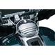 Chrome Tri-Line Fuel Door - 6968