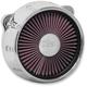 Chrome Gatlin Truflo Air Cleaner - ACX-01C-14C