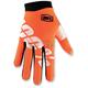 Youth Orange/Black I-Track Cal Trans Gloves