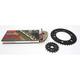 Gold Suzuki GB530GXW Chain and Sprocket Kit - 3136-990EG