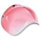 Red Gradient 3-Snap Bubble Shield - BV-RED-00-GR