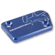 Blue Front Brake Master Cylinder Cover - 35-0222-00-20