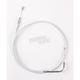 Sterling Chromite II Alternative Length Braided Idle Cables for Custom Handlebars - 34216