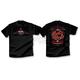 Black Retro Flare T-Shirt