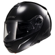 Black Strobe FF325 Modular Helmet with Sunshield