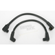 Black 409 Pro Race Wires w/90 Degree Boot - 49035