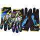 Cyan Podium Star Gloves