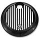 Contrast Cut Grill Style Fuel Door - 0200-2005FLT-BM
