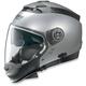 Platinum Silver N44 Trilogy N-Com® Helmet