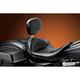 Monterey Solo Seat w/Driver Backrest - LK-697BR