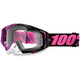 Black/Purple/Pink Racecraft Haribo Goggle w/Clear Lens - 50100-117-02