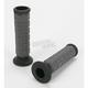 Gray/Black Cush Grips - S10CHG