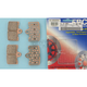 Double-H Sintered Metal Brake Pads - FA454/4HH
