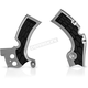 Silver/Black X-Grip Frame Guards - 2374271015