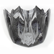 Black/Gray/White MC-5 Visor - 0964-6020-05
