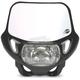 DHH DOT and CE Black Headlight - 2042750001