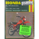 Honda Dirtbike Repair Manual - 567