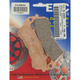 Double-H Sintered Metal Brake Pads - FA388HH