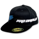 Black/Blue PC Straight Hat