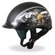 Matte Black American Eagle Helmet
