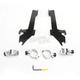 Batwing Black Trigger Lock Hardware - MEK1954