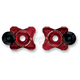 Red Axle Block Sliders - DRAX-113-RD