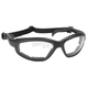 Black Freedom Sunglasses w/Clear Lens - 4315