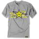 Gray Rockstar Streak Premium T-Shirt