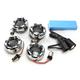Chrome Bullet Ringz LED Turn Signal Kit - BTR-KIT1157C