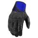 Black/Blue Sanctuary Gloves