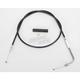 Alternative Length Black Vinyl Throttle Cable for Custom Height/Width Handlebars - 0650-1084