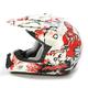 White FX-17 Zombie Helmet
