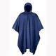 Navy Blue PVC Rain Poncho - 51-112NB