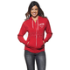 Womens Red/White Shop Zip-up Hoody